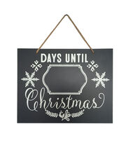 Fab Lab™ Christmas Chalkboard Sign-Christmas Countdown, , hi-res