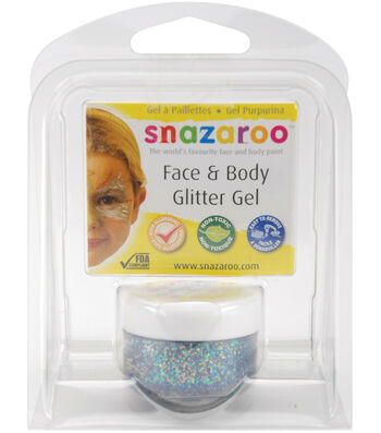 Snazaroo Face & Body Glitter Gel