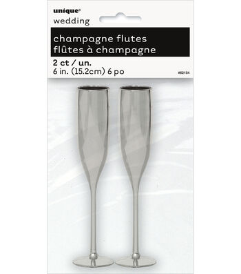 Unique Industries 2ct Wedding Champagne Flutes