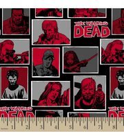 "The Walking Dead Fleece Fabric 59""-Comic, , hi-res"
