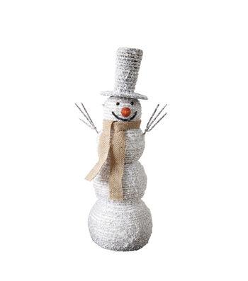 3R Studios Christmas Foam Snowman with Hat & Scarf