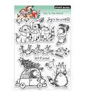Penny Black Cling Rubber Stamp 5\u0022X6\u0022-Joy To The World