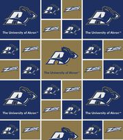 "University of Akron Zips Cotton Fabric 43""-Block, , hi-res"