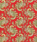 Waverly Upholstery Fabric-Pretty Paisley Jewel