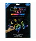 Foil Engraving Art Blank Boards 8\u0022X10\u0022-Rainbow