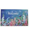 Wild Blooms Doormat-Blue Garden & Welcome