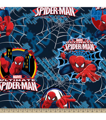 "Marvel Comics™ Fleece Farbic 59""-Ultimate Spider-Man Badge"