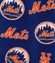 New York Mets Fleece Fabric 58''-Logo Toss, , hi-res