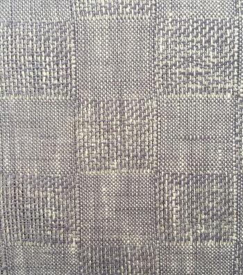"""Apparel Linen Linen Fabric 53""""-Gray Check"""