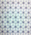 Holiday Inspirations Fabric-Hanukkah Tiny Star Of David Metallic
