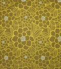 Home Decor 8\u0022x8\u0022 Fabric Swatch-Upholstery Fabric Barrow M8818-5716 Lime