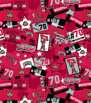 "Ohio State University Buckeyes Cotton Fabric 43""-Emblem, , hi-res"