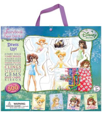 Disney® Fairies Dress Up Storybook & Paper Doll Kit