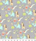 Snuggle Flannel Fabric 42\u0027\u0027-Play Time Friends