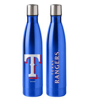 Texas Rangers 18 oz Insulated Stainless Steel Water Bottle, , hi-res
