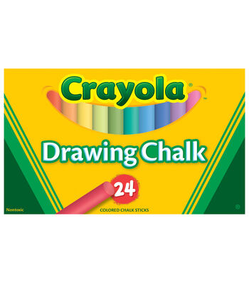 Crayola 24 ct. Colored Art Chalk