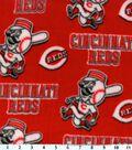 Cincinnati Reds Fleece Fabric 59\u0027\u0027-Logo