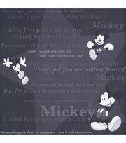 "Disney® 12""x12"" Paper-25PK/Mickey Tonal, , hi-res"