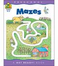 School Zone Preschool Workbooks 32 Pages-Mazes