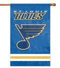 St. Louis Blues Applique Banner Flag