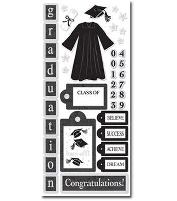 Graduation Icons Sticker