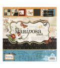 DCWV 12\u0022x12\u0022 Premium Paper Stack - Mariposa