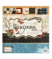 "DCWV 12""x12"" Premium Paper Stack - Mariposa, , hi-res"