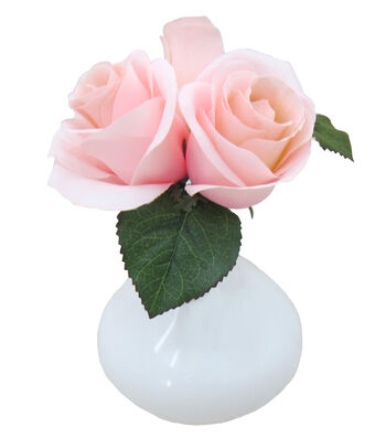 Mom Rose Arrangement-Light Pink