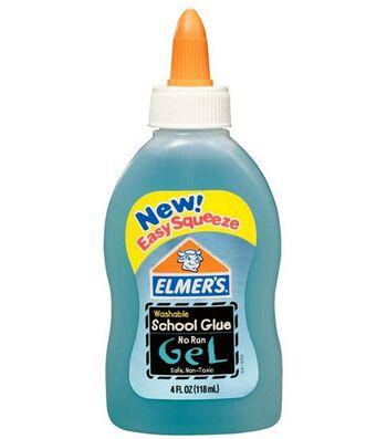 Elmers Washable No Run Gel School Glue