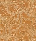Waverly Upholstery Fabric 58\u0022-Nouvelle Swirl/Pumpkin