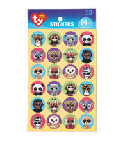 Darice® 96pcs TY Beanie Boos Stickers-Jungle, , hi-res