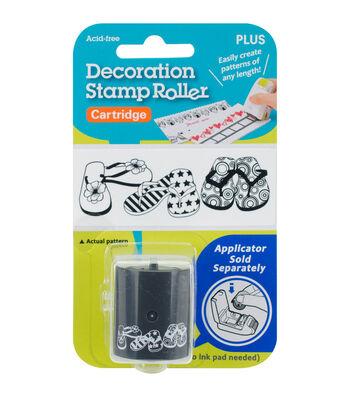 Decoration Stamp Roller Cartridge-Flip Flops