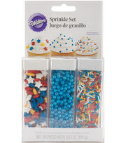 Wilton® Sprinkle Set-Primary, , hi-res