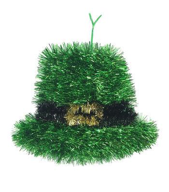 St. Patrick's Day Hat Tinsel Wall Decor