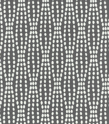 "Waverly Upholstery Fabric 55""-Strands Charcoal"