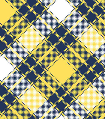 "Snuggle Flannel Fabric 42""-Annie Plaid Yellow"