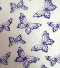 Glitterbug Butterfly Organza Glitter-Lilac