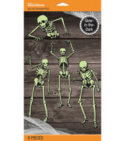 Jolee's Boutique Skeleton Glow-In-The-Dark Mega Silhouett, , hi-res