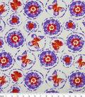 Snuggle Flannel Fabric 42\u0022-Butterfly Tie Dye