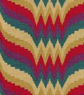 Waverly Upholstery Fabric-Epic Flame/Fiesta