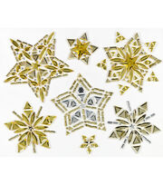 Jolee's Boutique® Holiday Bling Stickers 7pk-Holiday Stars, , hi-res