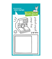 "Lawn Fawn Clear Stamps 4""X6""-Say Cheese, , hi-res"