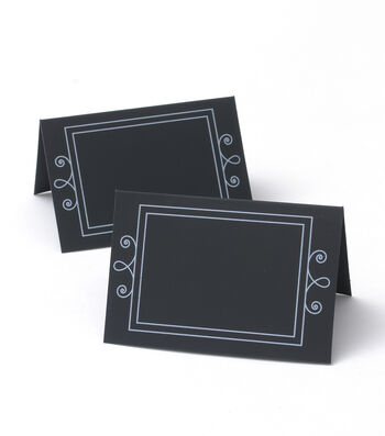Save The Date 20 Pack Chalkboard Place Cards