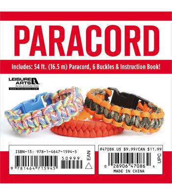 Leisure Arts Paracord Bracelet Kt