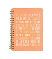 American Crafts™ Jen Hadfield Office Journal-Be Happy, , hi-res