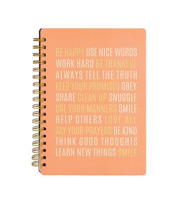 American Crafts Jen Hadfield Office Journal-Be Happy