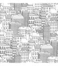 WallPops NuWallpaper Metropolis Peel and Stick Wallpaper