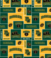 "Baylor University Bears Fleece Fabric 58""-Block, , hi-res"