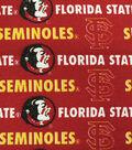 Florida State University Seminoles Canvas Fabric 58\u0022-Logo