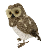 Blooming Holiday Christmas Large Owl-Spots on Natural, , hi-res